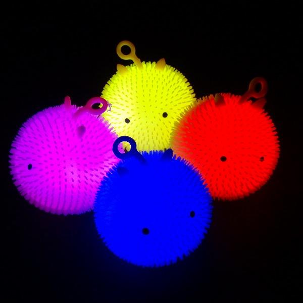 【光るおもちゃ】光るまんまるくんヨーヨー 12個入【光るおもちゃ 光り物玩具 縁日 お祭り 夏祭り 景品 おもちゃ 光る】