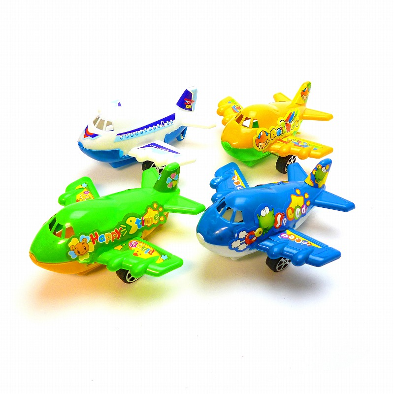ジャンボ飛行機 25個セット 景品 買い物 玩具 販促 おもちゃ 縁日 お祭り ランチ 飛行機 プルバック イベント 特価 子供会