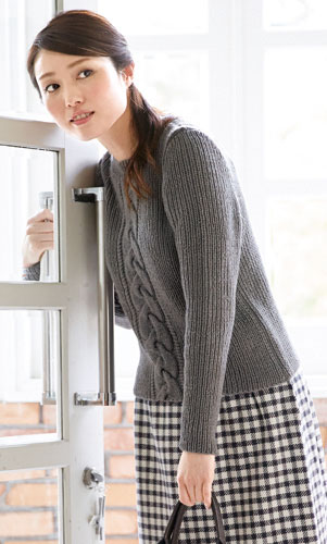 作品♪214a-17クルーネックのセーター