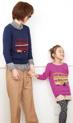 作品♪214a-29ロンドンバスセーター