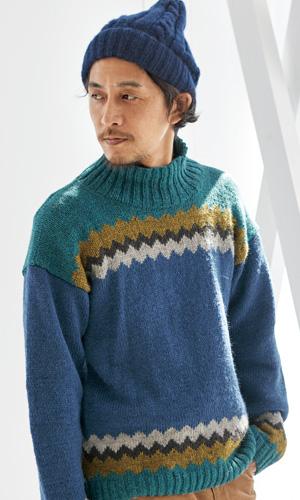 作品♪218aw-14メンズセーター