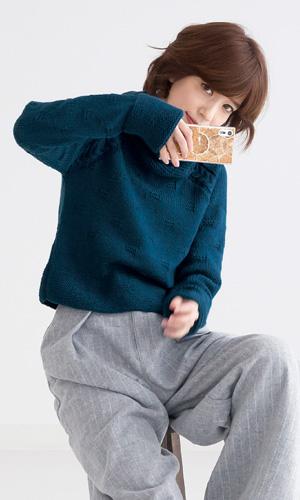 作品♪218w-02ロイヤルネックセーター