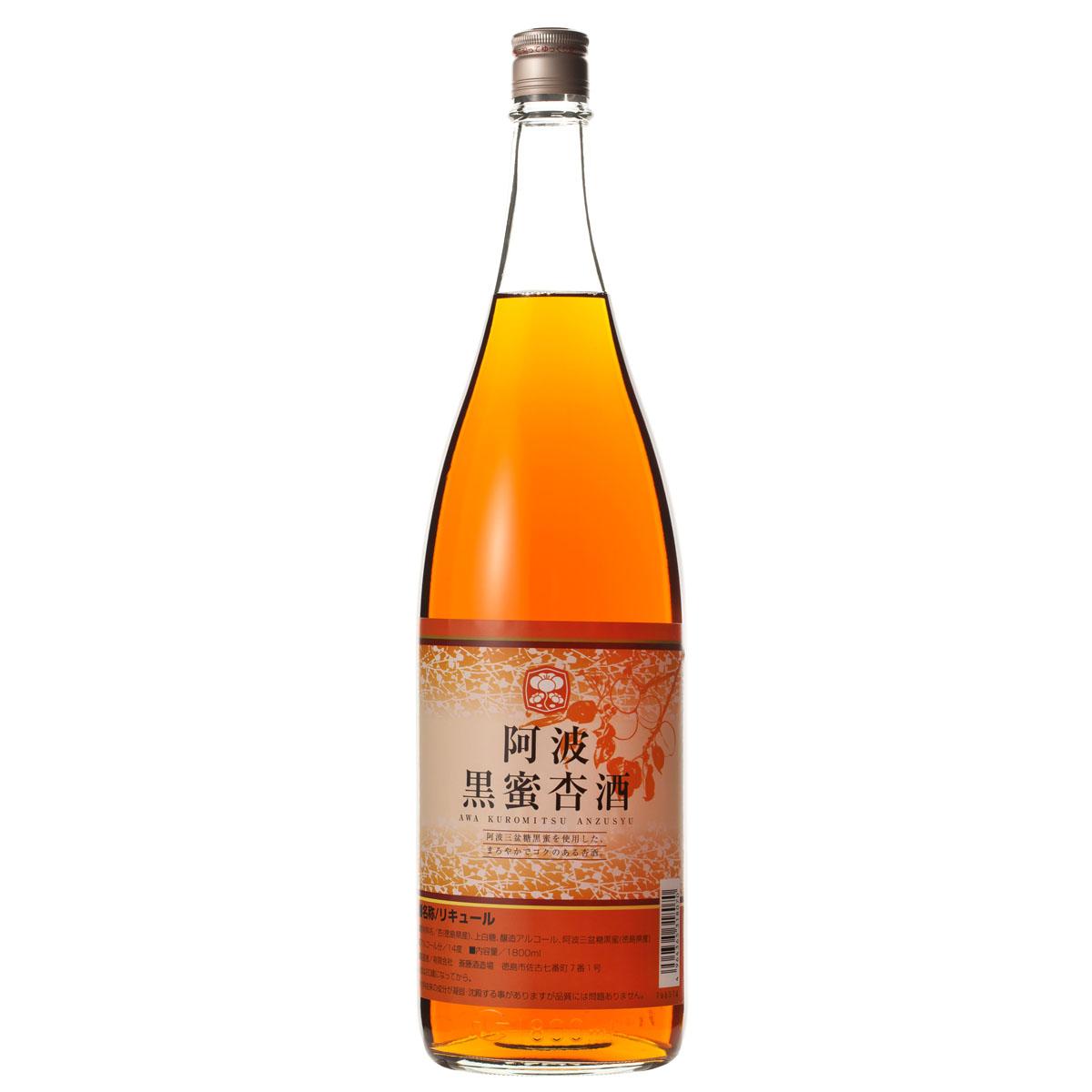 新入荷 流行 阿波黒蜜杏酒1800ml 注文後の変更キャンセル返品