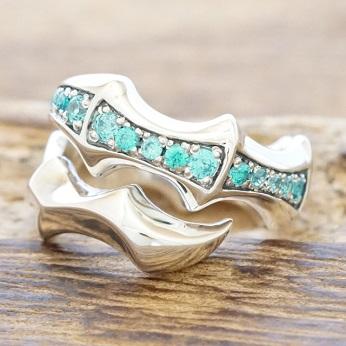 エムズコレクション(M's collection)クロー 爪 リング 指輪 シルバー925 キュービック ジルコニア メンズX0091bcz【送料無料】