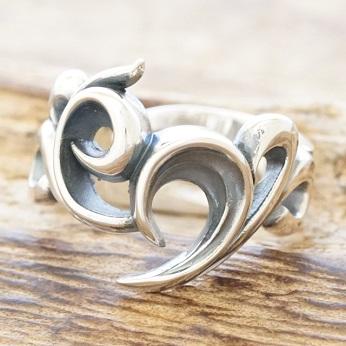 エムズコレクション(M's collection)トライバル リング シルバー925 指輪メンズ レディースXR-010【送料無料】