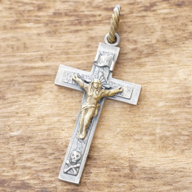 QUETZAL(ケツァール)キリスト ネックレス シルバー925 ジーザス 十字架QL-N-23【送料無料】