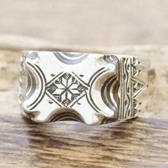 【あす楽】Tuareg silver(トゥアレグ シルバー)リング メンズ シルバー ウッド 指輪 トゥアレグ族ハンドメイド ジュエリー アクセサリーTA-141【送料無料】