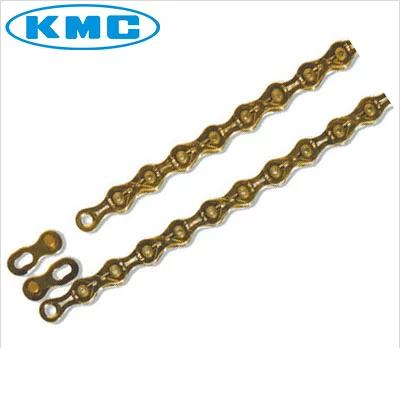 【送料無料】KMC 10速用チェーン X10SL TI-GOLD 116L