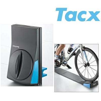 【送料無料】TACX(タックス) BlackTrack(ブラックトラック) バーチャルトレーニング用フロントホイール台