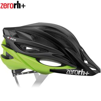 【セール特価】【送料無料】Zerorh+(ゼロアールエイチプラス)RIDER ヘルメット Matt BALCK/Matt Green (L/XL)