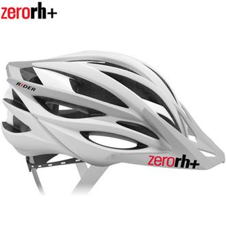 【送料無料】Zerorh+(ゼロアールエイチプラス)RIDER ヘルメット Matt WHITE/Matt L-GREY (XS/M)