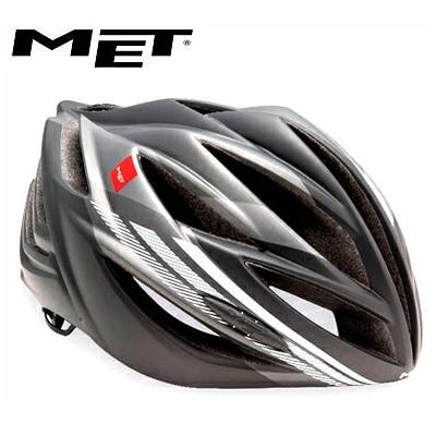 MET メット ヘルメット フォルテ アンスラサイトホワイト