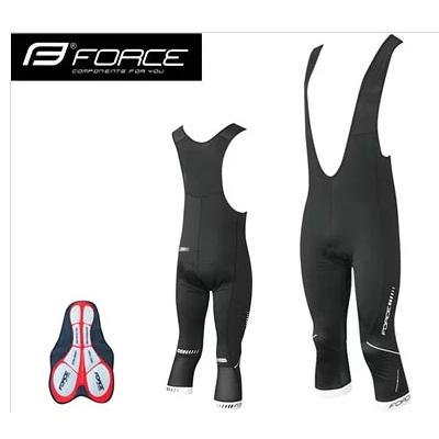 Force Force Z68 3/4 ビブパンツ(起毛) パッド付 ブラック