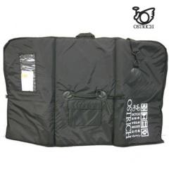 オーストリッチ OS-500 トラベル輪行バッグ (ブラック)【送料無料】