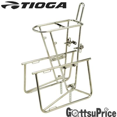 TIOGA(タイオガ)フロント ステンレス チューブラーキャリアー (パニア タイプ)CAF01000