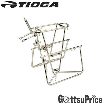 TIOGA(タイオガ)リア ステンレス チューブラーキャリアー (パニア タイプ)CAR09200