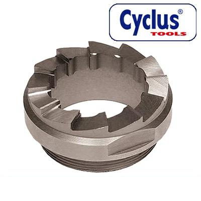 CYCLUS TOOLS #720230 クラウンレーススペアダブルカッター JISサイズ