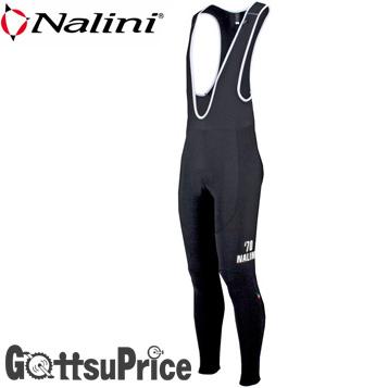 【在庫処分】【送料無料】ナリーニ 020667 サイクルビブタイツ ブラック(4000)