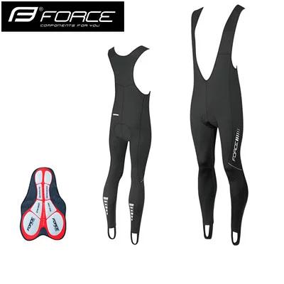 Force Force Z68 ビブタイツ(起毛) パッド付 ブラック