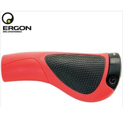 ERGON エルゴン GP1 ロング/ロング RED/BLK 自転車グリップ