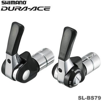 SHIMANO(シマノ)DURA-ACE(デュラエース) SL-BS79 SS バーエンド用シフトレバー (2/3X10スピード) ISLBS79H