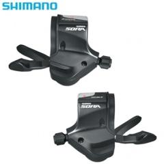 SHIMANO(シマノ) SORA(ソラ) SL-3500 3X9S シフトレバー (左右セット) ESL3500TPA【自転車 シマノ ソラ 3500/R350 ディレーラー】