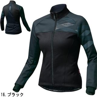 珍珠IZUMI W7500-BL窗布莱克茄克(女性用)