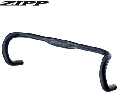 ZIPP ジップ Service Course SL-70Ergo エルゴハンドルバー ロードハンドル (Polished Black)