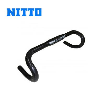 【送料無料】日東 NITTO Mod.90 カーボンドロップバー 31.8mm