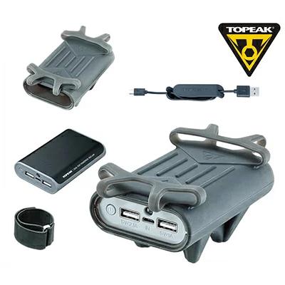 【送料無料】トピーク TOPEAK スマートフォン ホルダー (パワーパック付)BAG34900