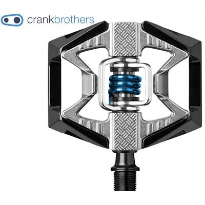 【送料無料】クランクブラザーズ ダブルショットペダル ブラック/ブルー(641300160065)