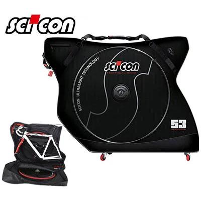 scicon シーコン AEROCOMFORT PLUS エアロコンフォートプラス キャスター付き輪行バック【送料無料】