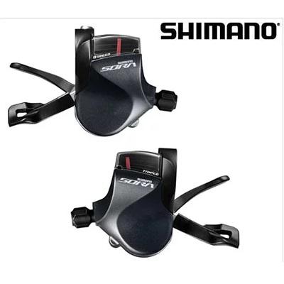 【送料無料】シマノ SL-R3000/R3030 左右シフトレバーセット 3X9速 SORA/R3000 ESLR3000TPA