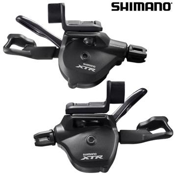 【送料無料】SHIMANO(シマノ)XTR SL-M9000-I RAPIDFIRE Plusシフトレバー 左右セット (I-spec II)(シフトケーブル付) ISLM9000IPA