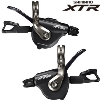 【送料無料】SHIMANO(シマノ)XTR SL-M9000 フトレバー 左右セット (シフトケーブル付) ISLM9000PA
