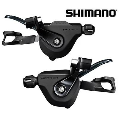 シマノ SL-U5000 (I-Spec II) 左右レバーセット 2X11速 シフトレバー METREA/U5000 ISLU5000PA