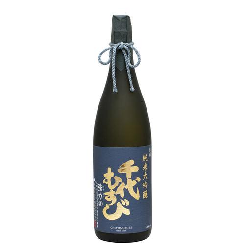 千代むすび 純米大吟醸 強力(ごうりき)40 1800ml 箱なし 日本酒 鳥取 地酒 ギフト お歳暮 父の日 お中元