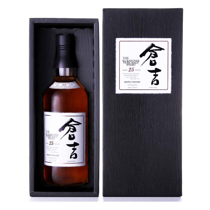 国産ウイスキー マツイ ピュアモルト ウイスキー 倉吉 25年 48度 700ml 箱付 鳥取 地酒