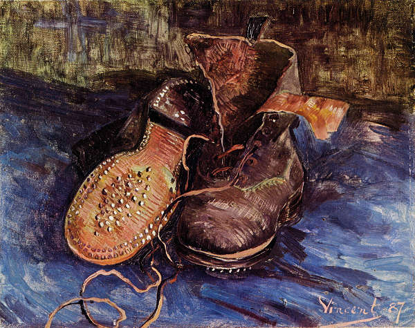 ゴッホ 靴 プリキャンバス複製画 アウトレットセール 特集 ギャラリーラップ仕上げ 6号サイズ 新作からSALEアイテム等お得な商品 満載