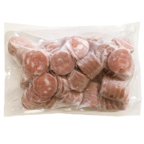 ボロニア ソーセージ コインカット 1kg×2袋 酒の肴 おつまみ ウインナー 冷凍