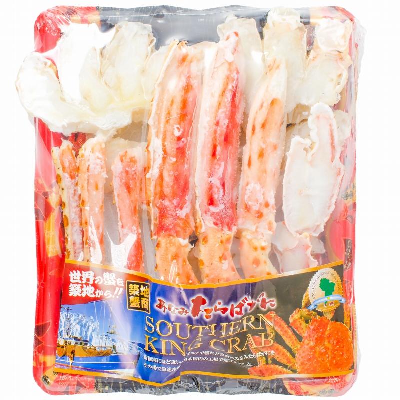 TMフーズ カニ工場 楽天市場店 送料無料 ミナミタラバガニ ハーフポーション ハーフカット済み 冷凍総重量450g前後 ボイル冷凍 【南タラバガニ 南たらばがに …