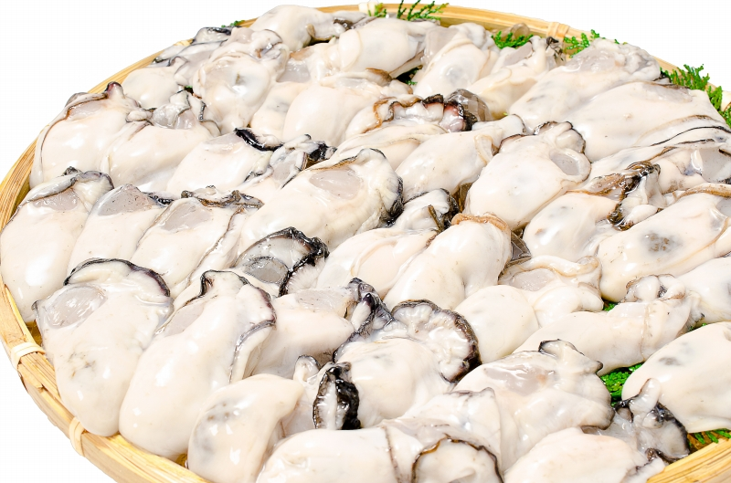 生牡蠣 2kg 生食用カキ 冷凍時1kg 解凍後850g×2パック 冷凍むき身牡蠣 生食用 新製法で冷凍なのに生食可能な牡蠣で濃厚な風味【冷凍 生ガキ かき カキ 牡蛎 牡蠣鍋 カキフライ 牡蠣フライ 築地市場 豊洲市場 レシピ ギフト】