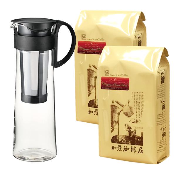 水出しコーヒーを美味しく作れる、コーヒー粉やグッズでおすすめはありませんか?