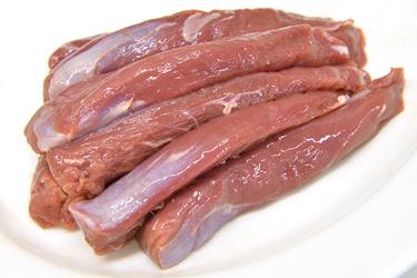 ラム テンダー(8~10本入 約500g) ニュージーランド産 柔らかジューシーな仔羊のヒレ肉【冷凍 不定貫6100円/kg(税別)で再計算】