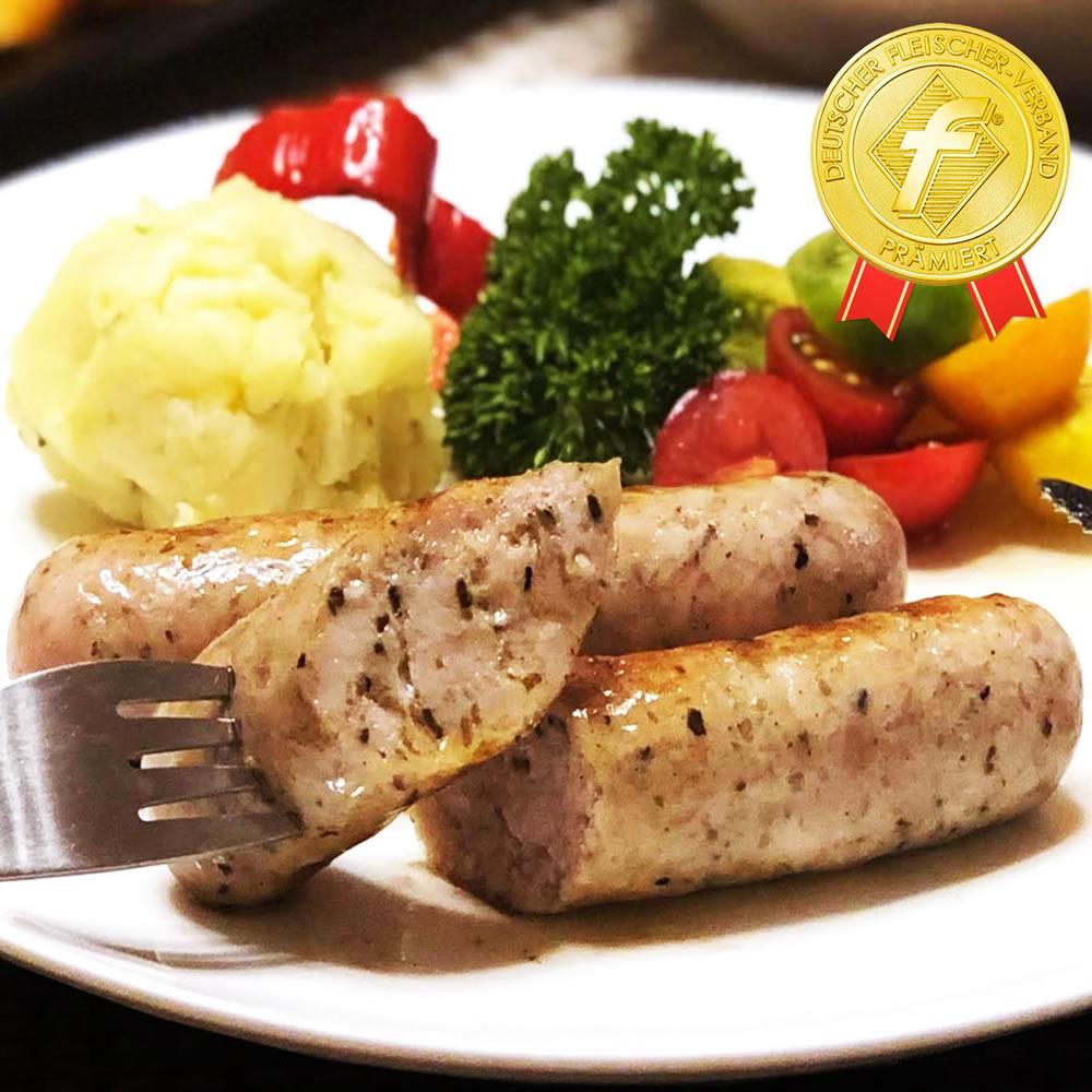 gourmetmeet: Gold medal receiving a prize! Black truffle sausage ...