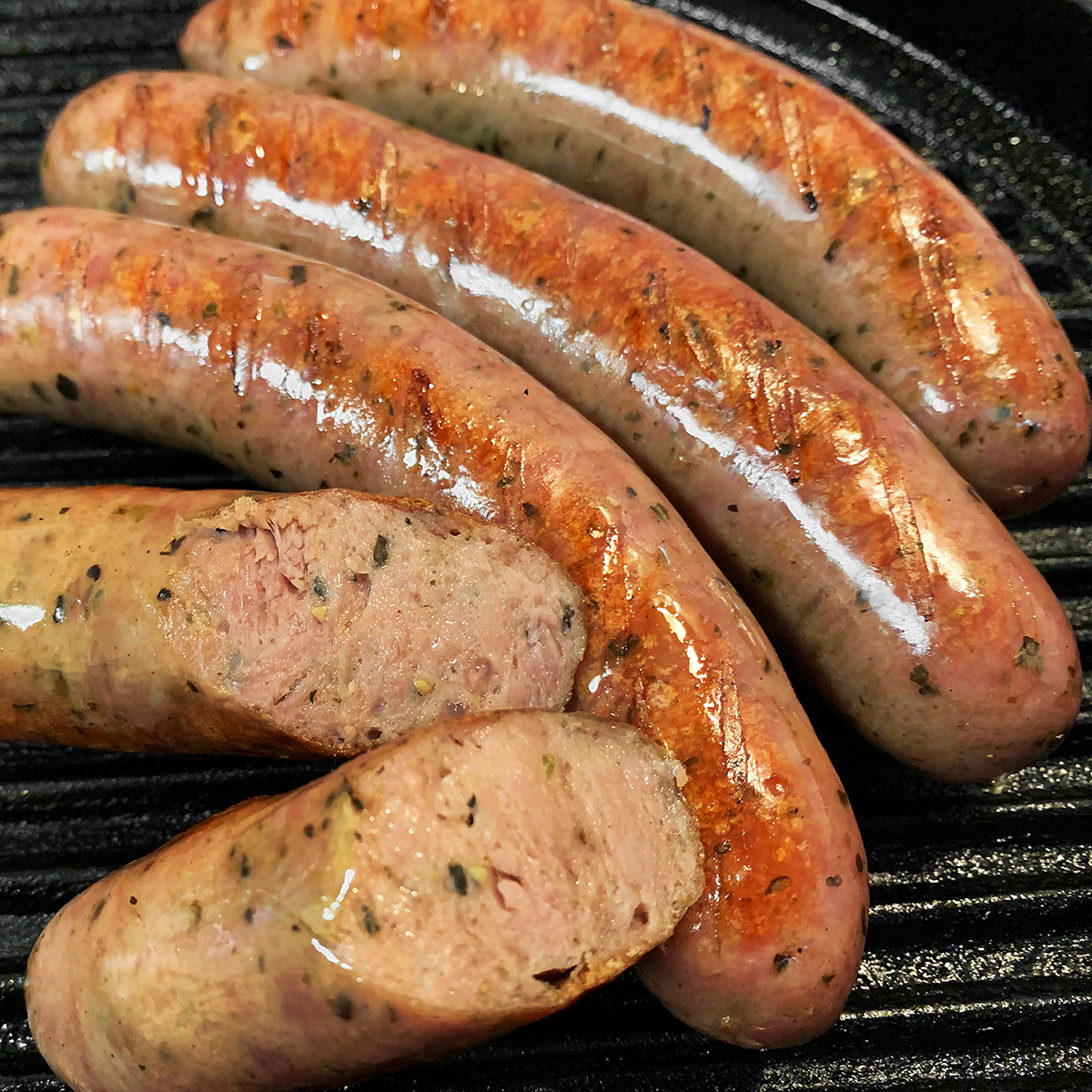IFFA2019食肉加工品国際コンテストで銅メダルを受賞 ラム肉のサルシッチャ 70gx4本 冷凍 新商品 新型 バジル風味のイタリア風 未使用品