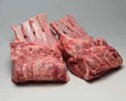 オーストラリア ソルトブッシュラム フレンチショルダーラック(冷蔵) 約600gX2PX10P ケース販売/表示価格は目安です。目方売り商品ですのでお支払い価格が変わりますので御了承下さい 仔羊肉/骨付きロース