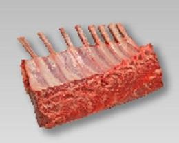 オーストラリア ラムフレンチラック キャップオフ(冷凍) 約0.65KgX14P ケース販売/表示価格は目安です。目方売り商品ですのでお支払い価格が変わりますので御了承下さい 仔羊肉/くら下ロース骨付き