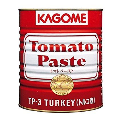 お取り寄せ カゴメ トマトペースト(トルコ産) 1号缶X6缶/ケース販売