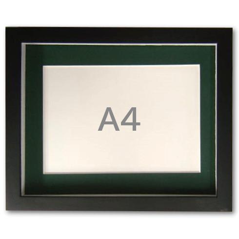 奥行があるので立体物も収納できる 売り出し 写真立て アートフレーム A4 ストアー サイズ BOXフレーム 木製 A4 ブラック 卓上 写真額 ボックスフレーム 黒 付き Vマット 桐材 使用 壁掛け